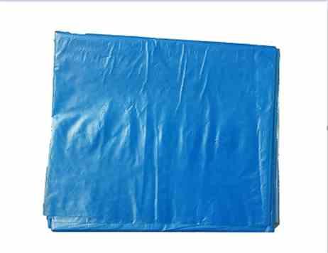 蓝色分类垃圾袋