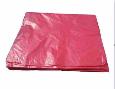 红色分类垃圾袋